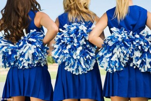 Wiggling Cheerleaders isn't always a good thing.