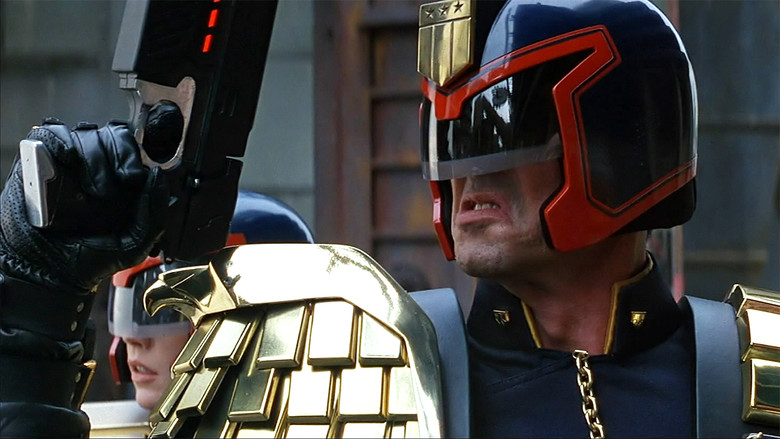 Here Comes Honey Judge Dredd!